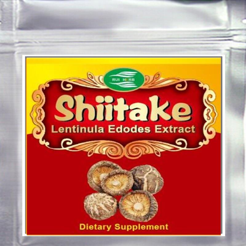 10.6oz (300g) Shiitake Mushroom(Lentinula Edodes) Extract Powder 30% Polysaccharide free shipping 1pack 100% natural pleurotus ferulae extract powder 30% polysaccharide 500mb x 300caps enhance the bodys immune