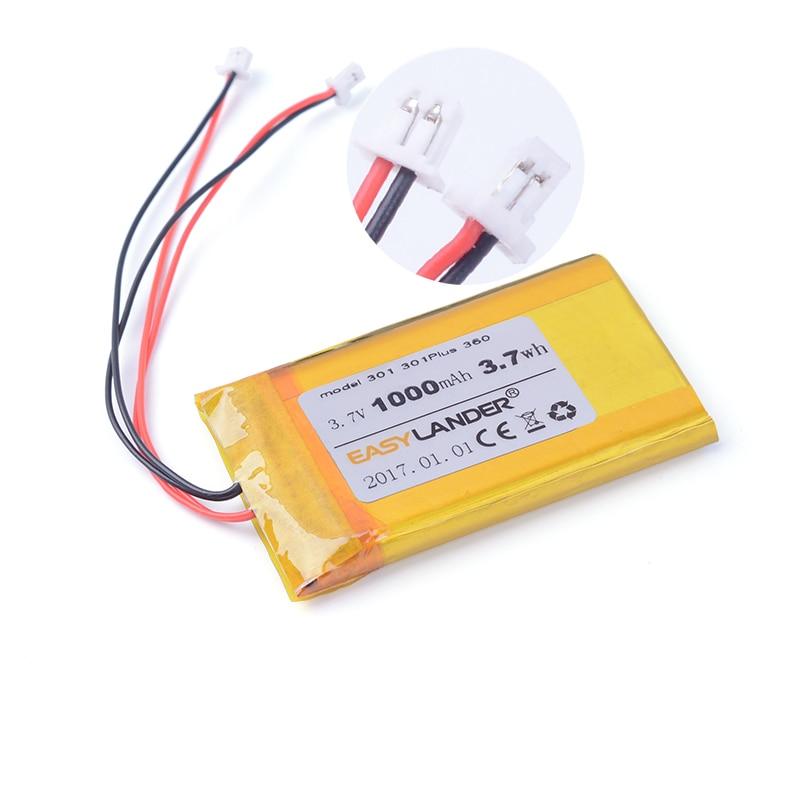 Easylander 3 7V 1000mAh Rechargeable Li Polymer Li ion Battery For PocketBook 360 PocketBook 301 PocketBook