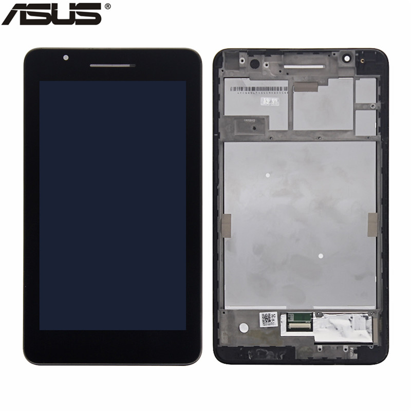 Asus Orginal LCD Display Touch Screen Assembly Replacement Parts For ASUS Fonepad 7 FE171 FE171MG FE171CG LCD screen with frame high quality for zte 9130 lcd display with touch screen assembly with frame black replacement parts free tracking
