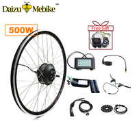 36V 500W Electric Bike Motor 202426700C MTB Road Bicycle Electric Bike Conversion Kit Without battery LED / LCD Controller