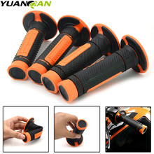 Left 22mm & Right Motorcycle HandleBar Motorbikes Hand Grips For DUKE 250 390 RC 690 990 Adventure EXC 450 530 525