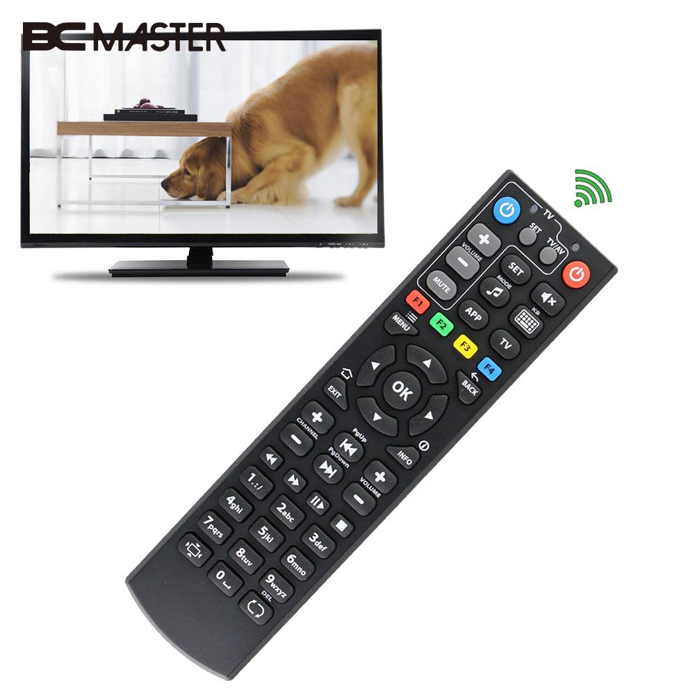 Smart TV Box Controller Remote Controller TV Remote Learn Function Copy The Code Of Infrared Replacement TV Box IPTV