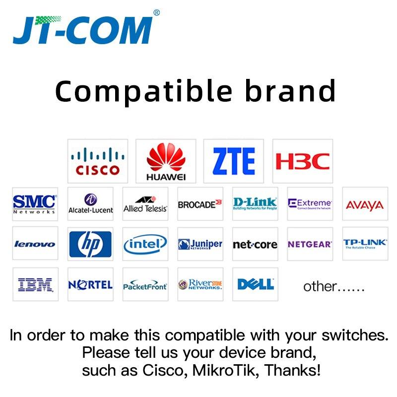 Image 2 - 1000Mbps mini Gbic Single Mode duplex SFP Module LC Compatible Cisco/Mikrotik switch GLC LH SM Fiber Optic module 20/40/80/120KM-in Fiber Optic Equipments from Cellphones & Telecommunications