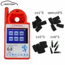 Newest V1.23 Smart CN900 Mini Transponder Key Programmer for 4C 4D 46 48 G Chips with CN1 CN3 CN5 CN6 Chip