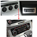 For VW Passat B6 conversion air conditioner switch air conditioning control unit RCD510 RNS510 air temperature can be displayed