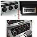 Para VW Passat B6 conversión de aire acondicionado interruptor de control de aire acondicionado unidad RCD510 RNS510 temperatura del aire se puede visualizar