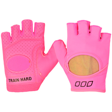 Cycling glove Gym Fitness Gloves Sports Weight Lifting Exercise Slip-Resistant Gloves For Women Yoga Gloves Pink Color
