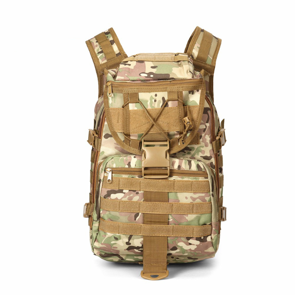 40L Tactical Waterproof Backpack Rucksacks Sport Camping Molle X7 Outdoor Trekking Shoulder Bag