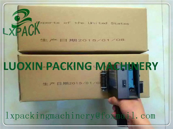 LX-PACK Laagste fabrieksprijsvereiste traceerbaarheid matrix pallet etiketteringsoplossing grafische editor software handheld printer