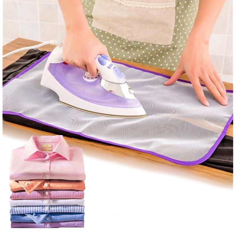 Удобный гладильный коврик бытовой Подставка под железные защитная сетка протектор одежды