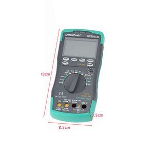Image 5 - Holdpeak hp 890cn Digitale Multimeter Backlight AC/DC Amperemeter Voltmeter Ohm Draagbare Meter weerstand frequentie duty cycle test