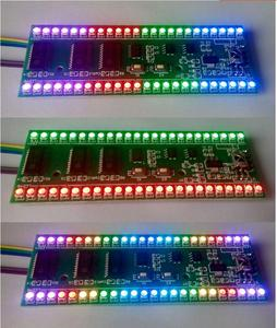 Image 1 - Rgb mcu調節可能な表示パターン24 led vuレベルインジケータ計デュアルチャンネル