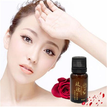 Promotion Price 10ml Water-soluble 100% Pure Rose Essential Oils for Aromatherapy(China)