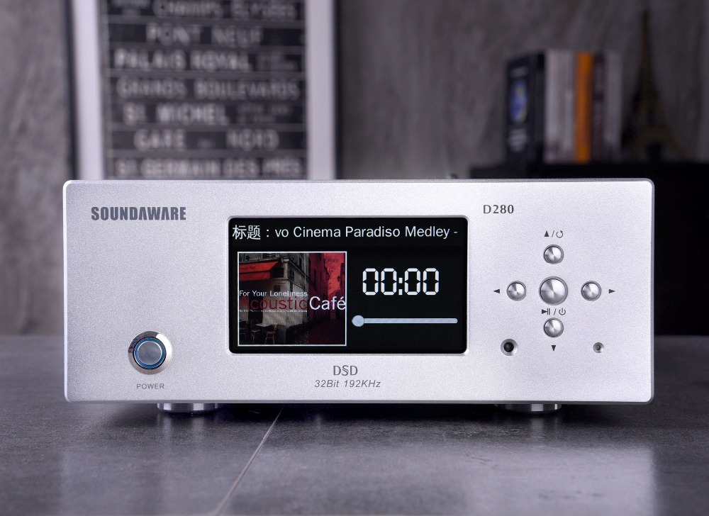 R-023 Soundaware D280 platine numérique de bureau Support HIFI Roon prêt DLNA Airplay Internet wifi NAS SAMBA USB