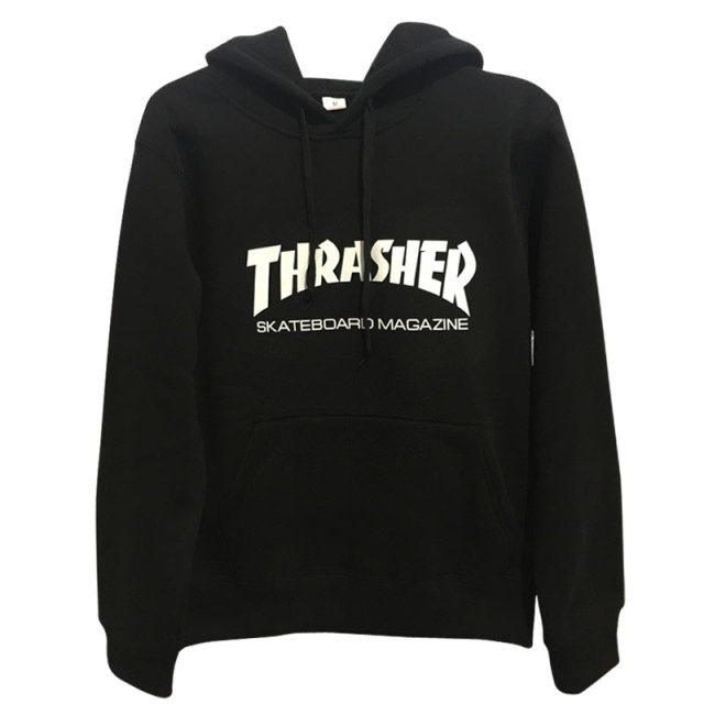 New brand Autumn Winter Fleece Skateboard Thrasher Sweatshirt Men Hoodies Women Streetwear Tracksuit Hooded Trasher Mens Hoodies