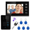 Hot Sale Wireless 2 4G Color Video Door Phone Intercom System Rfid Password Monitor And CMOS