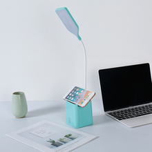 купить Digad 3 Color Desk Lamp USB Led Table Lamp 28 LED Table Lamp with Clip Bed Reading Book Light LED Desk Lamp Table Touch 5 Modes по цене 770.5 рублей