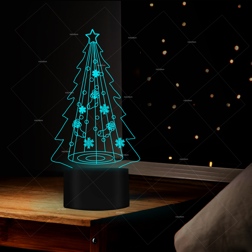 Night Lights Diligent Drop Ship Merry Tree Xmas Led Night Light Party Decorative Usb Desk Tabel Child Baby Sleep To Suit The PeopleS Convenience