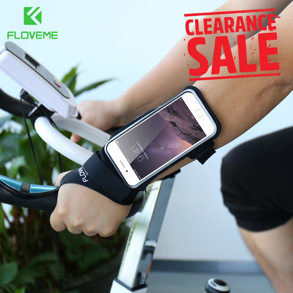 FLOVEME Clearance!! Sport Arm Band Sport Accessories Mobile Phone Bag Case Cover