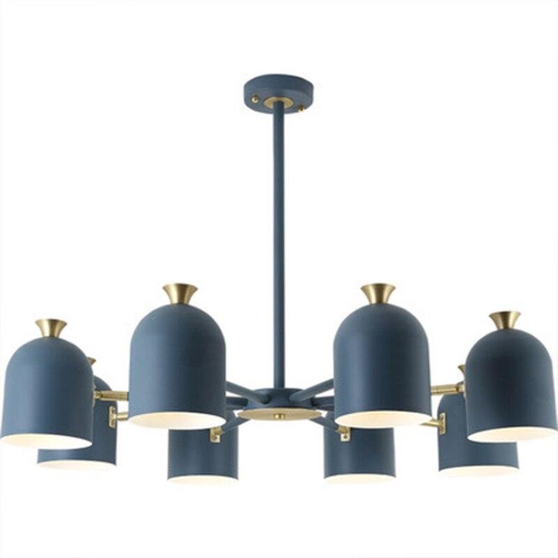 Indoor LED Innen Licht Kronleuchter Hause Dekorative Bunte Suspension LED Lampe Für Wohnzimmer Schlafzimmer Esszimmer Leuchte - 6
