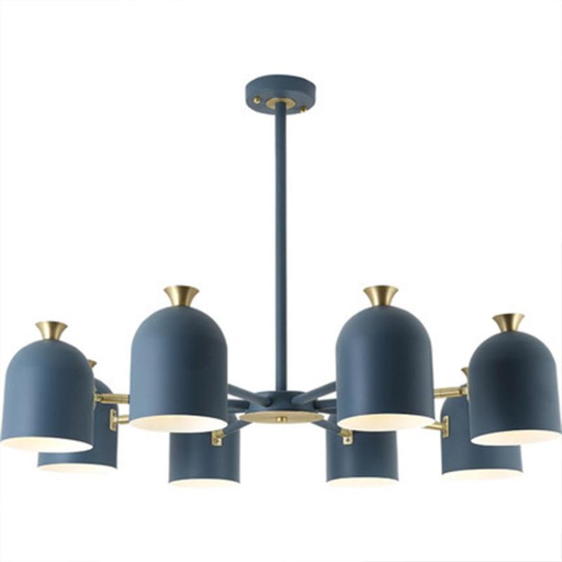 LED d'intérieur lustre de lumière d'intérieur maison décoratif coloré Suspension lampe à LED pour salon chambre salle à manger luminaire - 6
