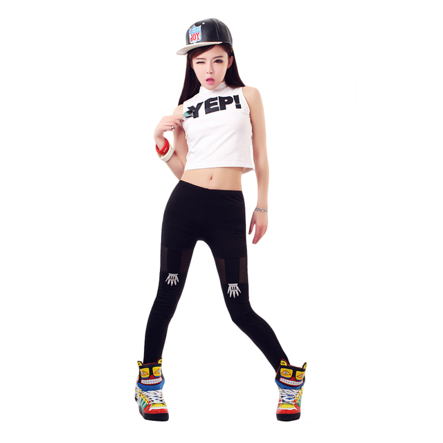Hip Hop Costume Hiphop Nightclubs Sleeveless Tops DS Costume Jazz Dancewear for Women Dj Stage Costume  sc 1 st  AliExpress.com & Hip Hop Costume Hiphop Nightclubs Sleeveless Tops DS Costume Jazz ...
