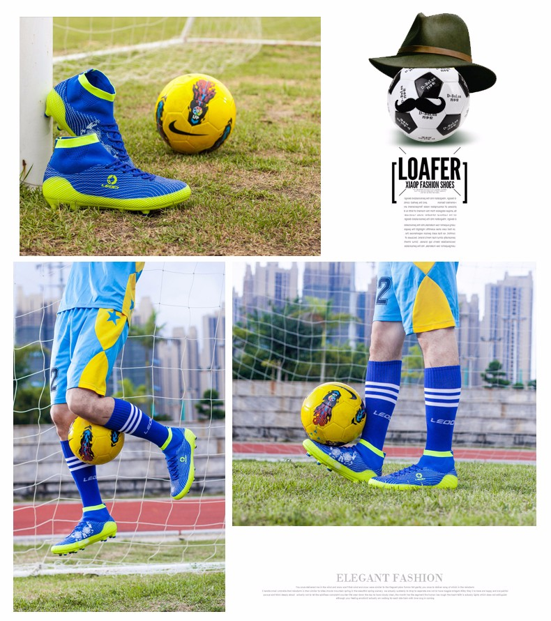 2017 High Ankle Kids Football Boots Superfly Original Cheap Indoor Soccer Football Shoes Cleats Boys Girls Sneakers High Quality 1