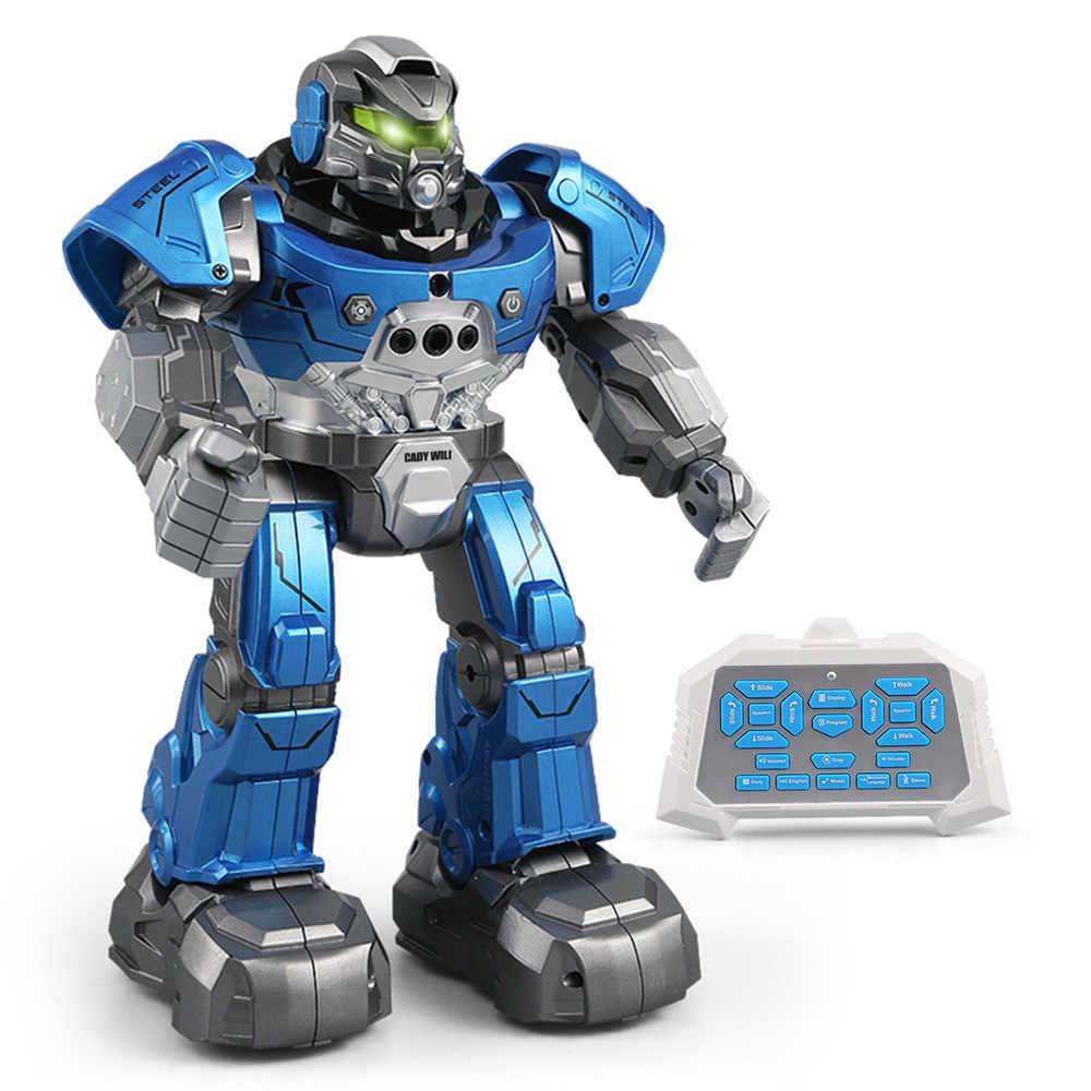 JJR/C RC робот R5, WILI интеллигентая (ый) робот программируемое дистанционное управление Авто Follow жест Сенсор танцевальной музыки игрушка детский подарок