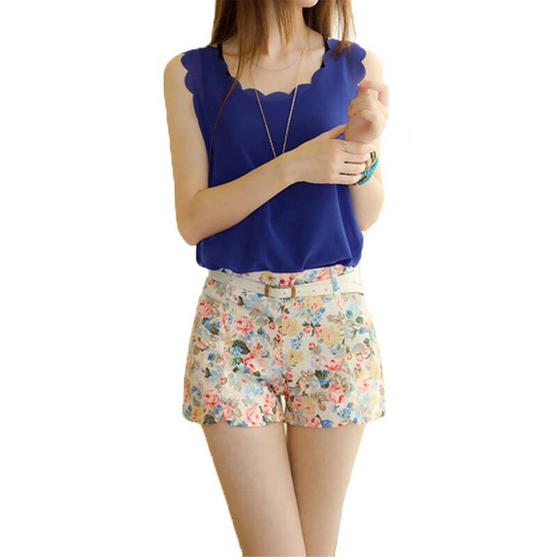 Ladies High Waisted Shorts - Hardon Clothes