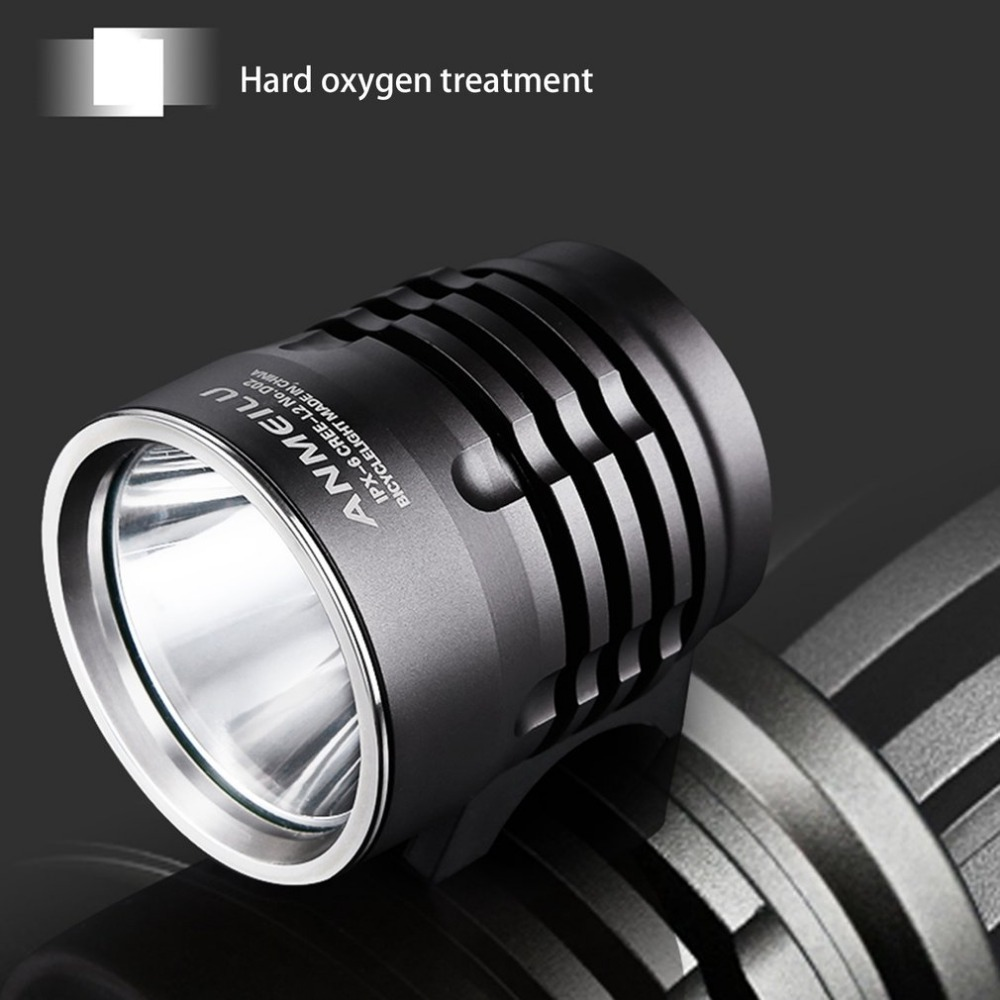 Mountain Bikes Ride Strong Lights At Night High Strength Aluminum Alloy LED Round Headlight Bicycle Light Bike Head Lamp mountain bike four perlin disc hubs 32 holes high quality lightweight flexible rotation bicycle hubs bzh002