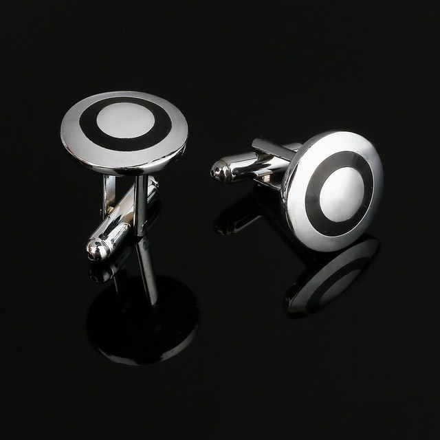 Metal Fashion Wedding Cufflinks for Men