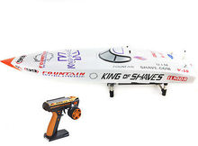 50″ G26IP1 26CC Engine Gas Remote Control RC Racing Boat Fiber Glass Monohull ARTR Almost Ready White