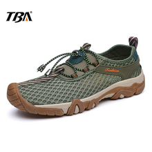 2017 TBA Men Breathable Mesh Sneaker hard-wearing Trekking Shoes for Men's Trave  Outdoor Lightwight Sneakers Hiking Shoe