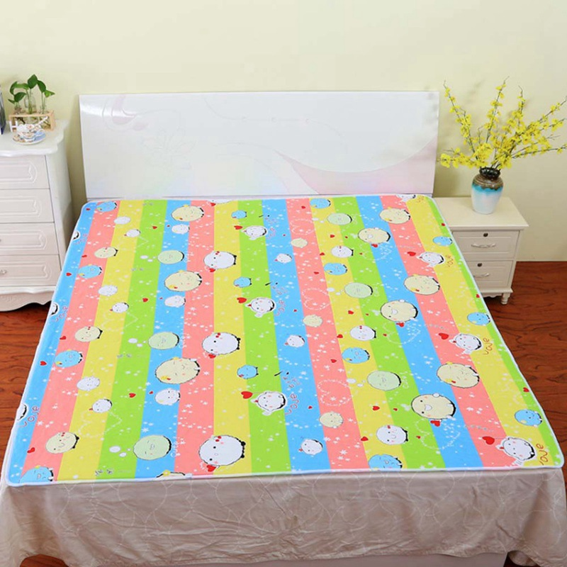 Baby Diaper Changing Pads Covers Reusable Baby Diapers Printed Pattern For Newborn Linens Waterproof Sheet Changing Mat 50*70cm