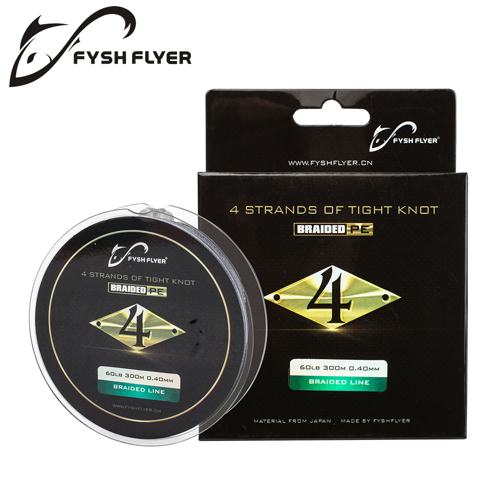 300M PE Braided Fishing Line 4 Stands Superpower 8-60LB Japan Multifilament Fishing Line for Carp Fishing Wire for All Fishing