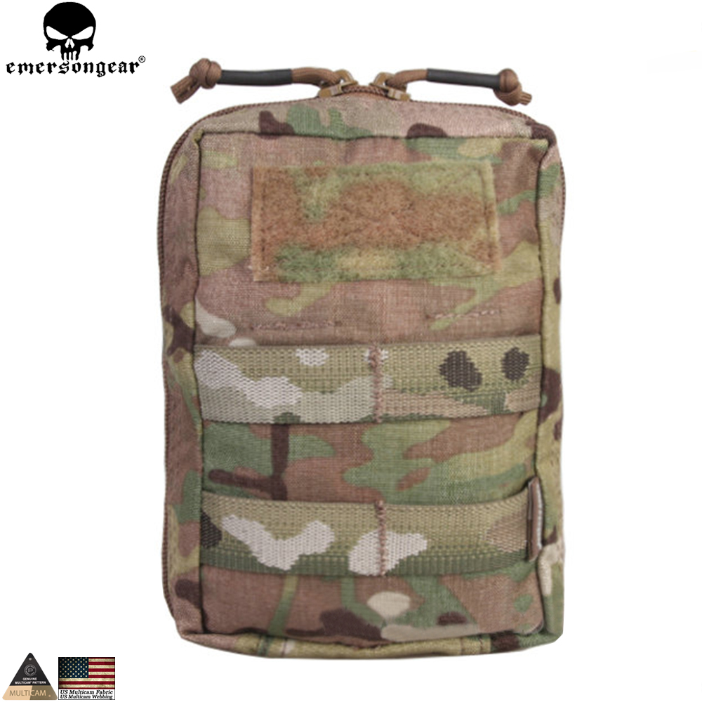 EMERSONGEAR Utility Pouch Hunting Combat Tactical Dump Pouch Multicam Molle Bag EM9287