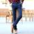 Pantalones de marca Slim fit otoño invierno nuevos pantalones formales casuales hombres pantalones stretch plus gruesa gruesa recta pantalones de calidad negro azul
