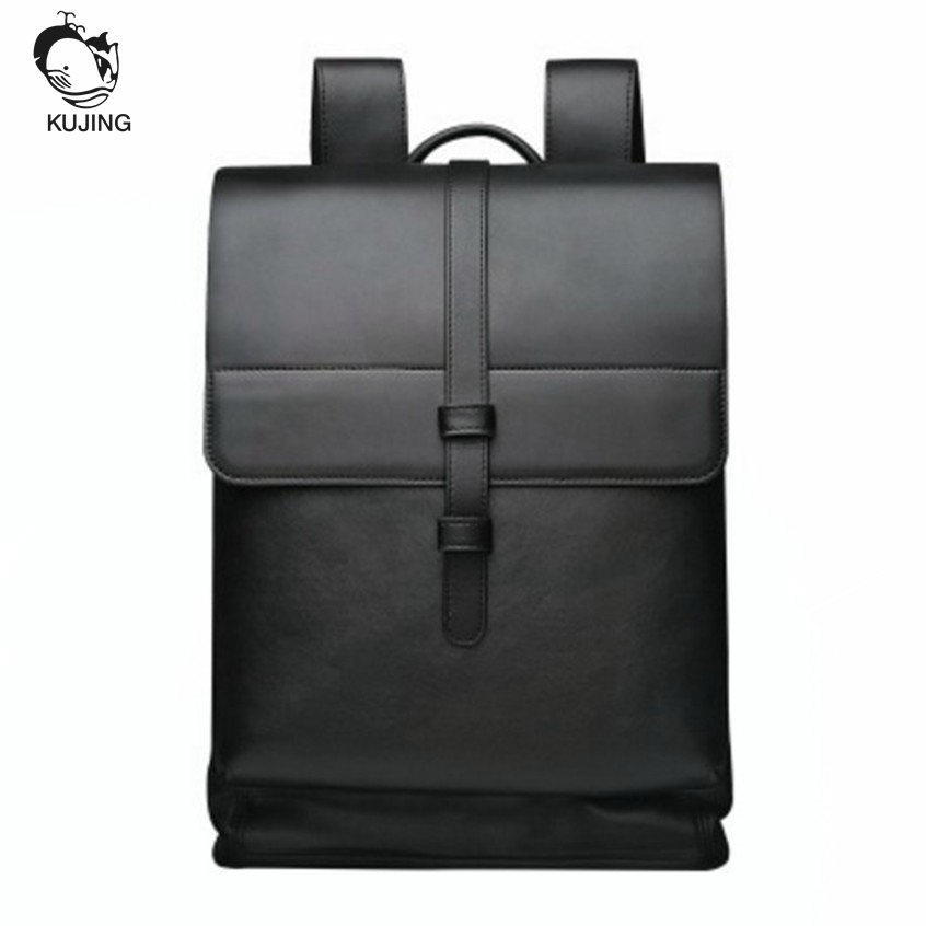 KUJING Fashion Backpack High-end Business Travel Men Backpack Selling Cheap High-capacity High School Students Computer Backpack kujing brand backpack high quality geometric lingge students backpack free shipping fashion travel leisure travel women backpack