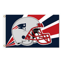dac90541c28 Helmet New England Patriots Flag Football Helmet Banners 3ft X 5ft Banner  Super Bowl Champions Custom Flag