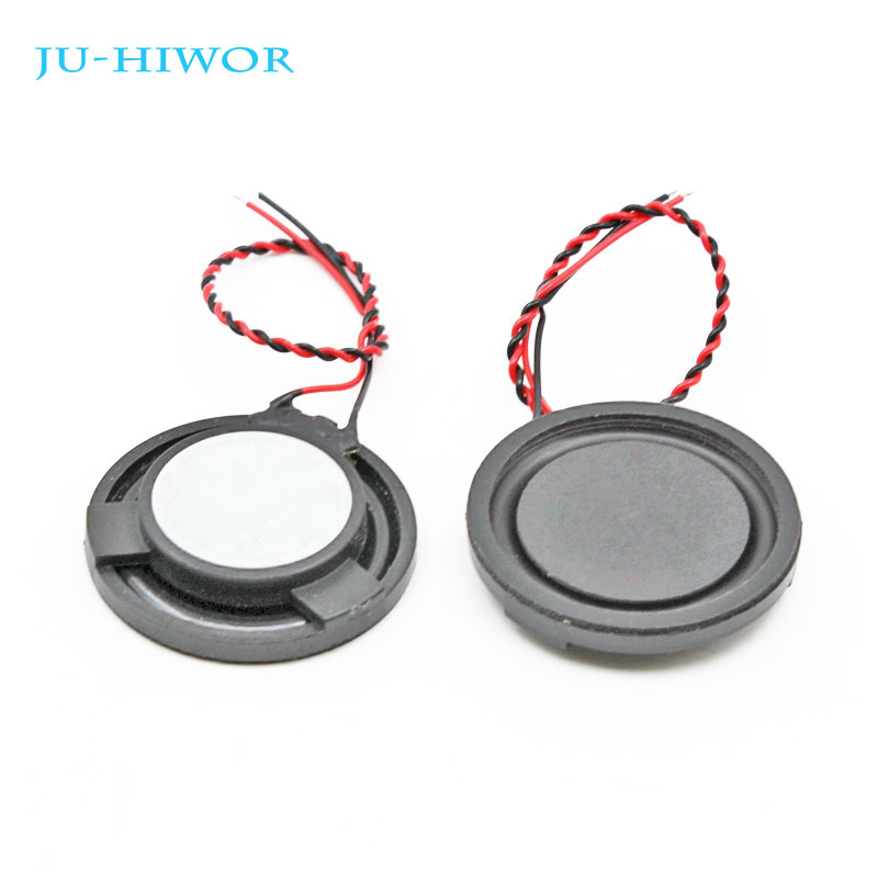 10pcs 4R 3W <font><b>32MM</b></font> Round <font><b>Speaker</b></font> Thickness 6MM Complex Film Bass Loudspeaker For High-end Toys E-book image