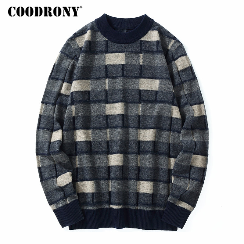 FGKKS Men Winter Wool Coat 2019 Men s New Casual Warm Thick Comfortable Wool Blends Woolen