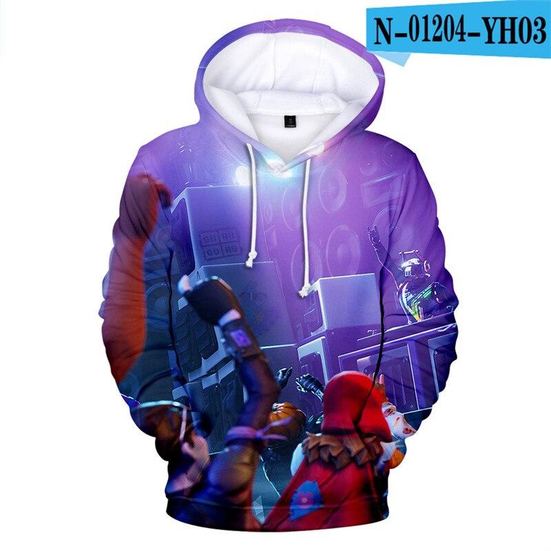 Fortnit Battle Royale Hoodie Sweatshirt Fortnight Sweatshirt Battle Royale Popular Clothings Causal Women Clothes Game Clothings