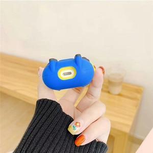 Image 5 - การ์ตูนตลกสำหรับAirPods 2 1 Appleป้องกันกรณีน่ารักหูฟังบลูทูธซิลิโคนนุ่มกรณีชุดหูฟังFunda Coque