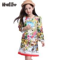Meisjes boutique outfit kinderkleding set jas + dress kids kleding lente peuter meisjes kleding sets kids pasen dress
