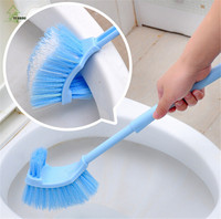YIHONG Chinese Style Double Pinceis Toilet Brush Holder Plastic Long Handled Cleaning Pincel In Banheiro
