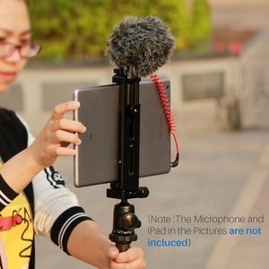 Image 5 - Ulanzi U Pad Pro Aluminium Tablet Statief Mount Houder Klem W Koud Schoen Voor Ipad Pro Ipad Mini Air huawei Pc Naar Boya BY MM1 Mic