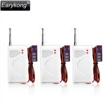 3 pcs/lot Wireless 433MHz Water Leakage detector, Water Overflow sensor, For home burglar alarm system
