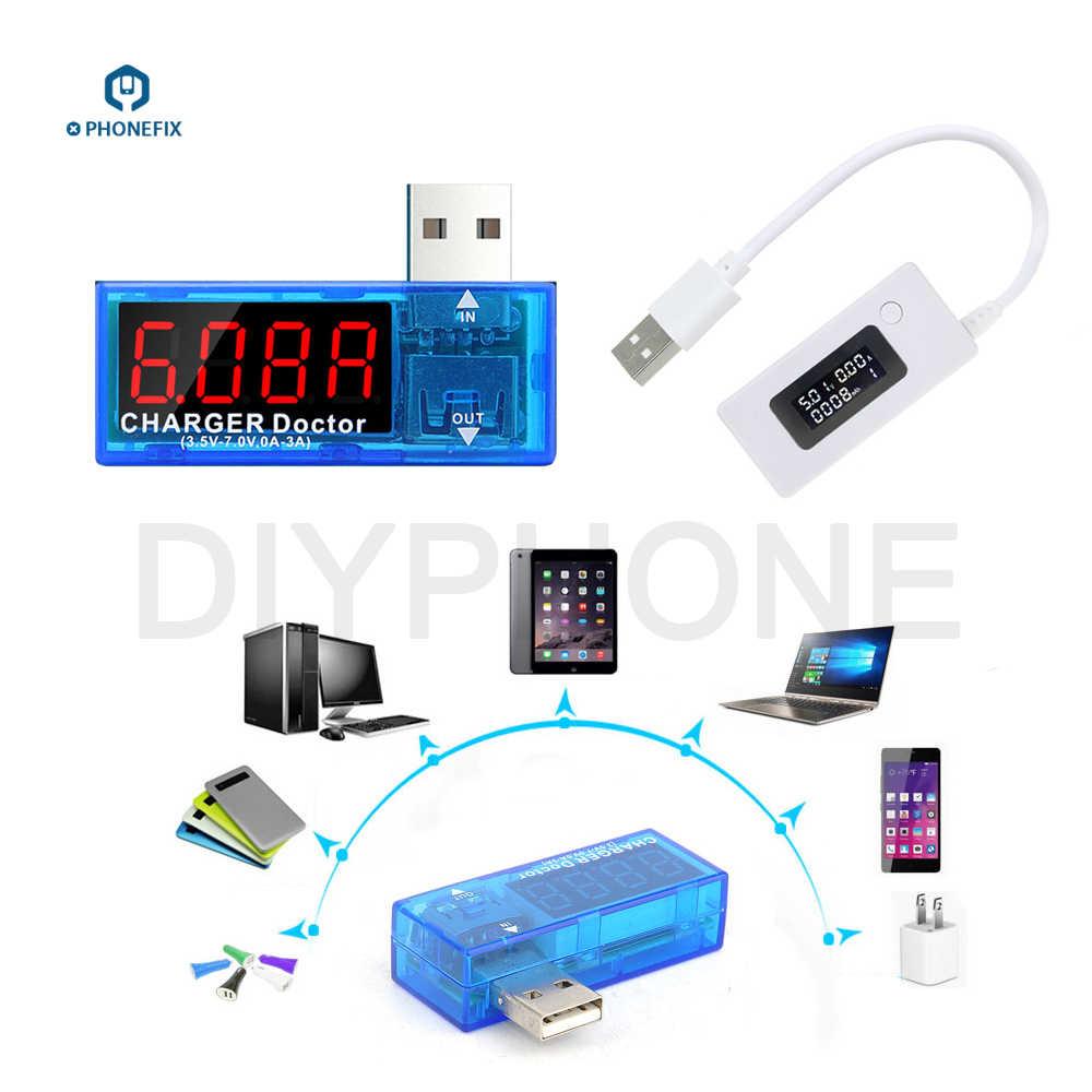 Измерительный прибор USB цифровой мультиметр USB многофункциональный Электрический тестер емкость Напряжение Ток измеритель мощности Детектор фаз зажигания