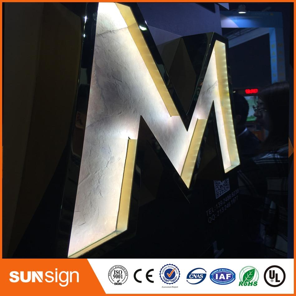 High Quality LED Front Lit Letter Signs/wedding Decoration Light Up Letter
