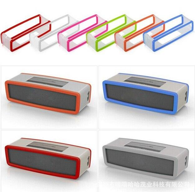 2016 New Fashion Soft Cover Case For Bose Mini SoundLink Bluetooth Speaker Silica gel Protection Travel Bag Speaker Case